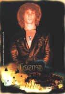 The Doors Vinyl Sticker Jim Morrison Fire Logo