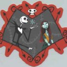 Nightmare Before Christmas Vinyl Sticker Jack Sally Frame