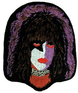 Kiss Iron-On Patch Paul Stanley Face