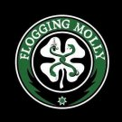 Flogging Molly Poster Flag Black Shamrock Logo Tapestry