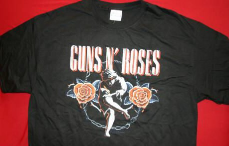 Guns n' Roses T-Shirt Use your Illusion Black Size XL