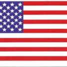 American Flag Vinyl Sticker