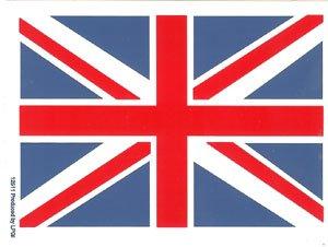 British Flag Vinyl Sticker Union Jack Logo
