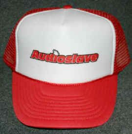 Audioslave Mesh Trucker Hat Red Logo One Size Fits All
