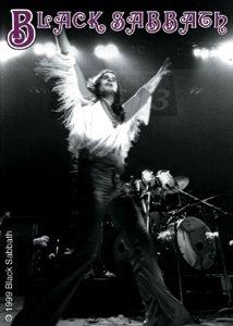 Black Sabbath Vinyl Sticker Ozzy Live Logo