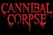 Cannibal Corpse Vinyl Sticker Red Letters Logo