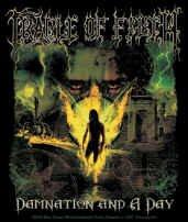 Cradle of Filth Vinyl Sticker Damnation Logo
