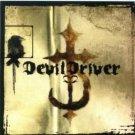 Devil Driver Vinyl Sticker CD Cover Logo