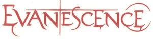 Evanescence Vinyl Cut Sticker Red Letters Logo
