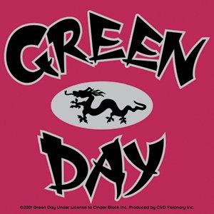 Green Day Vinyl Sticker Dragon Logo