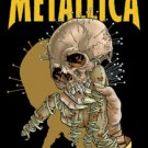 Metallica Vinyl Sticker Fixxxer Skull Logo