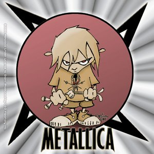 Metallica Vinyl Sticker Ninja Bad Ass Logo