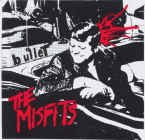 Misfits Vinyl Sticker Bullet Logo