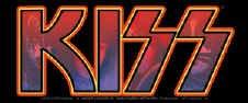 Kiss Vinyl Sticker Letters Logo