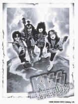 Kiss Vinyl Sticker Farewell Tour Logo