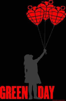 Green Day Poster Flag Balloons Logo Tapestry