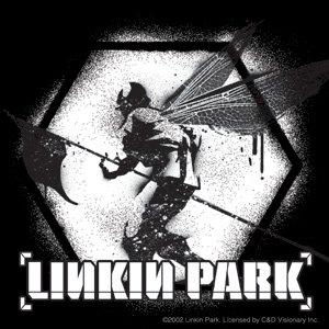 Linkin Park Vinyl Sticker B&W Soldier Logo