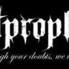 Lost Prophets Vinyl Sticker Letters Logo Quote