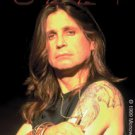 Ozzy Osbourne Vinyl Sticker Close-Up Photo Logo