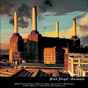 Pink Floyd Vinyl Sticker Animals Logo