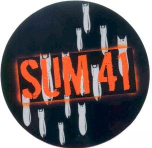 Sum 41 Vinyl Sticker Bombs Logo