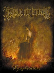Cradle of Filth Poster Flag Nymphetamine Wall Banner