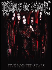 Cradle of Filth Poster Flag Five Pointed Stars Wall Banner
