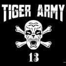 Tiger Army Poster Flag Werecat Logo Tapestry
