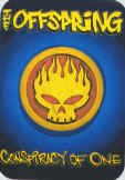 The Offspring Vinyl Mini Sticker Conspiracy of One