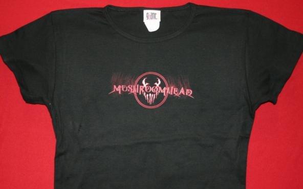 Mushroomhead Babydoll T-Shirt Letters Logo Black One Size