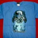 Star Wars T-Shirt Darth Vader Blue Size Large