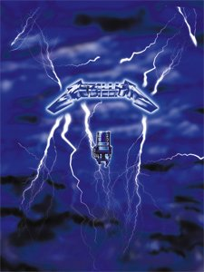 Metallica Poster Flag Ride the Lightning Wall Banner