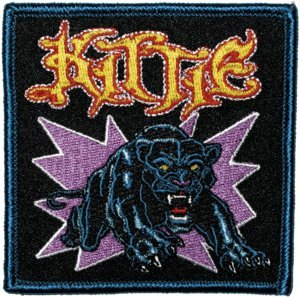 Kittie Iron-On Patch Panther Logo