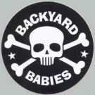 Backyard Babies Vinyl Sticker Skull Crossbones Logo