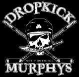 Dropkick Murphys Vinyl Sticker Hockey Skull Logo