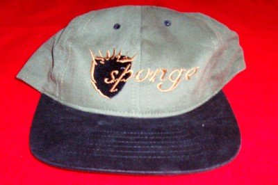 Sponge Hat Baseball Cap Wax Ecstatic Shield Logo