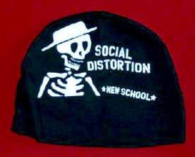 Social Distortion Infant Skull Cap New School One Size