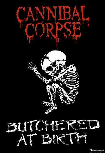Cannibal Corpse Poster Flag Butchered Tapestry