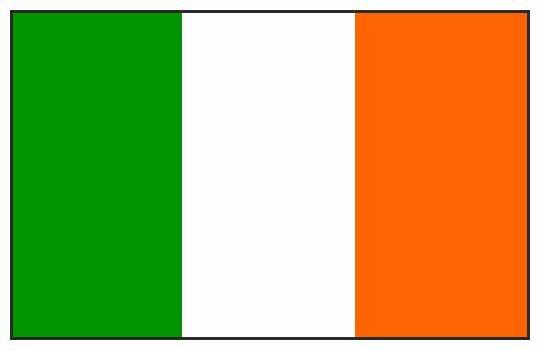 Irish Poster Flag Ireland Eire Tapestry