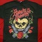 Bullet For My Valentine T-Shirt Heart Skull Black Size XL