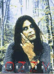 Ozzy Osbourne Vinyl Sticker Finger Photo Logo
