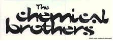 Chemical Brothers Vinyl Sticker Letters Logo