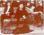 Bush Vinyl Sticker Cafe Band Photo