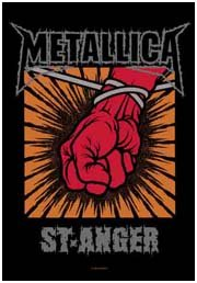 Metallica Poster Flag St Anger Tapestry