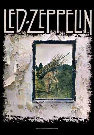 Led Zeppelin Poster Flag Stairway Album Cover Tapestry