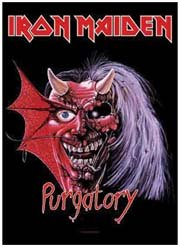 Iron Maiden Poster Flag Purgatory Tapestry
