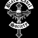 Black Label Society Poster Flag Crucifix Tapestry
