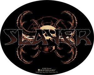 Slayer Vinyl Sticker Oval Horns Logo