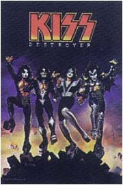 Kiss Poster Flag Destroyer Tapestry