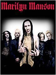 Marilyn Manson Poster Flag Holywood Tapestry